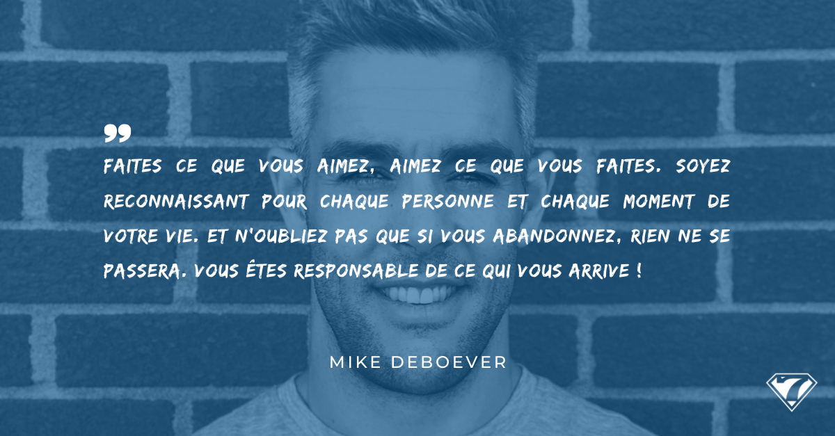 INTERVIEW MIKE DEBOEVER