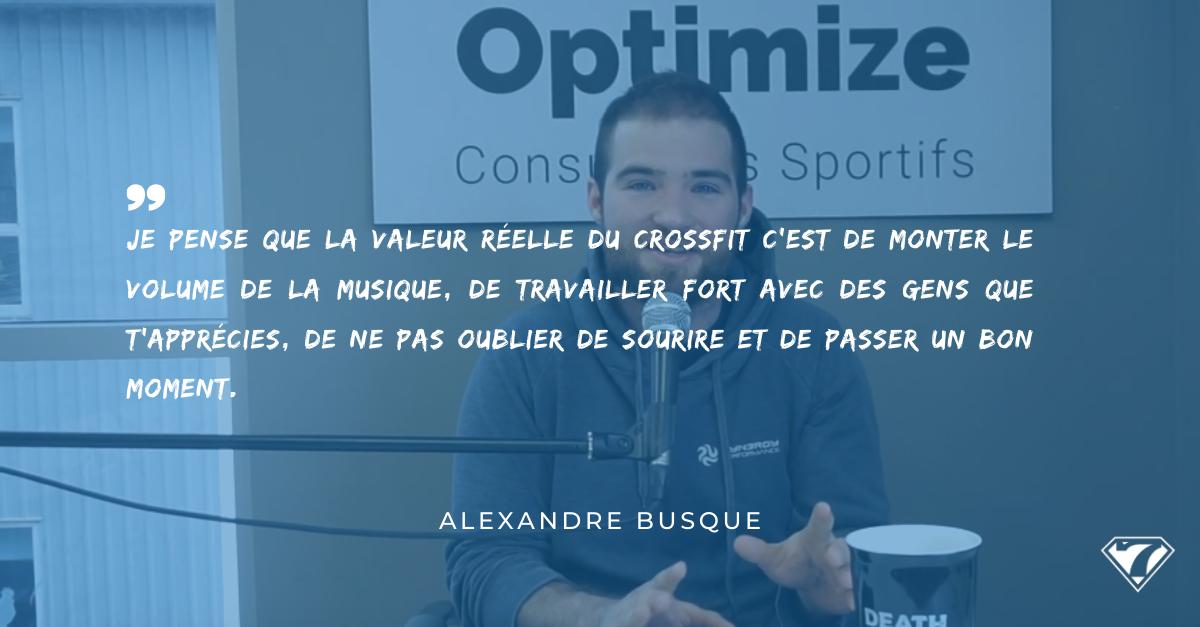 INTERVIEW ALEXANDRE BUSQUE