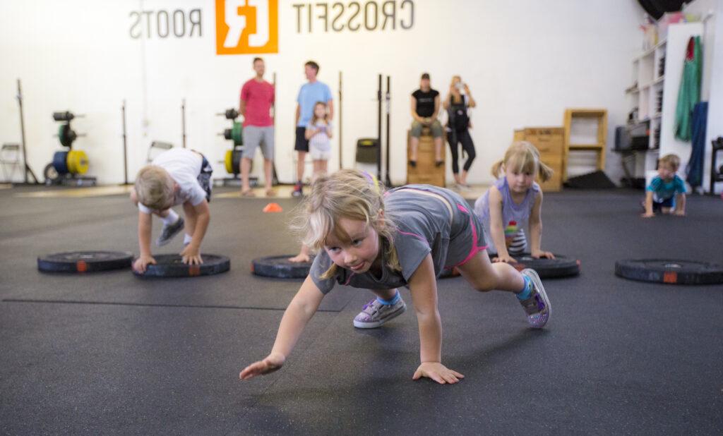 Training kids